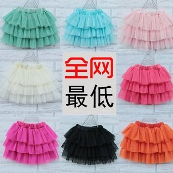 2015 new arrival girls skirts kids baby fashion tutu skirt childrens pettiskirt fashion design multicolor skirt