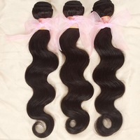 Mocha Brazilian virgin hair body wave Queen hair products Mixed length 2pcs 3pcs& 4pcs nala hair good price free shipping