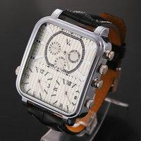 Hot V6 5pcs/lot Steel Case Analog Quartz Watch Rectangle Alloy Glass Fashion Casual Wristwatches Sale Dropship