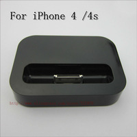 Charger Dock  for iPhone 4 /4S iPod Charger Station Black White High Quality Free Shipping