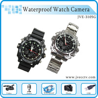 HK Free shipping Hot sale HD  Watch Camcorder,waterproof hidden watch camcorder,1080P  watch hidden camcorder 8GB+retail box