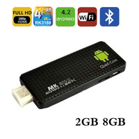 5pcs/lots mini PC Andriod 4.2 2GB/8GB+Quad core RK3188+HDMI (TV)+3D Movie Play+Mobile phone DLNA+1080P XBMC+Somatic Game