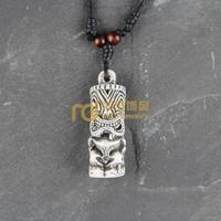 12pcs Wholesale Tibetan Jewelry Yak Necklace Fashion Artificial Bone Pendant Statue N0395