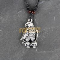 12pcs Wholesale Tibetan Jewelry Yak Necklace Fashion Artificial Bone Pendant Eagle N0201
