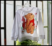 boys cartoon pig T-shirt  for autumn & spring children and babys FREE SHIPPING