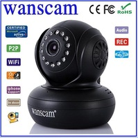 Wanscam Newest Wireless Wifi P2P IP camera support 32G SD TF Card indoor use ip camera