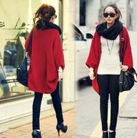 2014 New Brand Batwing Women Cardigans Coats/Brand Spring Women Sweaters/Casual Women Clothing