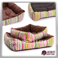 New Free Shipping High Quality ~Pet House Bed Cat Dog Kennel Warm Cushion Lovery Warm Doggy Kennel 2 SIze Available