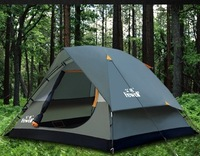 Male wolf against storm tent Outdoor / people camping tent / outdoor tent 3-4 person Double / Outdoors