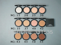 2pcs/lot high quality NC 15 20 40 25 30 35 37 40 42 43 45 47 50  studio Fix  Powder foundation face primer 15g  free shipping