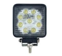 Super bright square 27W LED work light for ATV SUV, truck, mining, hunting