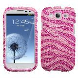 Full bling case cover for Galaxy s3 i9300 -Free shipping 1pcs