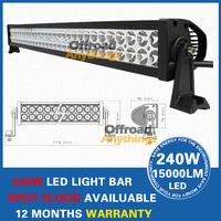 "42"" inch 240W LED Work Driving Light Bar Combo Beam for 4x4 Car Truck Boat Wide SUV ATV OffRoad Fog Lamp 12V 24V"