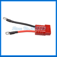 Free Shipping 50A Andersn Type Connector Quick Release With Silicone Wire Terminals
