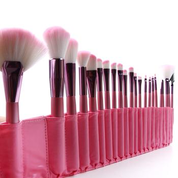New Professional 1Set/lot 100% 22 pcs/Set Cosmetic pink Makeup Brushes&tools Set  for makeup
