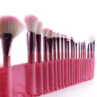 New 2013 Professional 1Set/lot 100% 22 pcs/Set Cosmetic Makeup Brushes Set  for makeup Christmas Gift