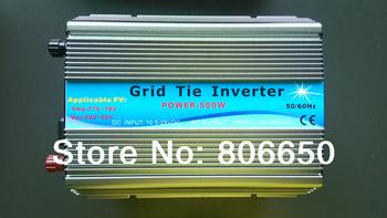 500W 12V-110V micro grid tie inverter for solar home system MPPT function Grid tie power inverter 500W,free shipping$#