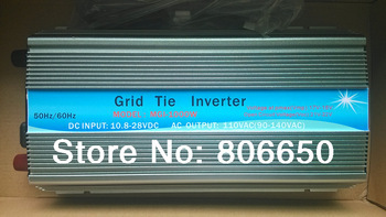 *1000W 12V-240V micro grid tie inverter with MPPT function for solar home system,free shipping