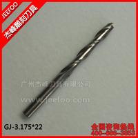 3.175*22mm Jeefoo CNC Router Bits/ Cutting Tool Bits/ Carving Tools/  CNC Router Bits For Engraver