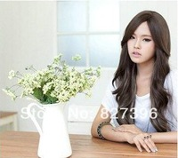 Wholesale Price Cute Long Straight 100% Synthetic Hairs Full Lace Front Wigs Pear