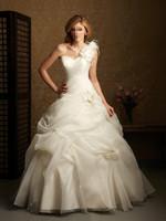 new arrival best selling dress wedding dress formal  princess wedding dress royal one shoulder flower wedding formal dress