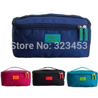 Traveling duffle Bag in Bag Fashion waterproof  Nylon cosmetic Women Luggage travel storage sport bags organizer