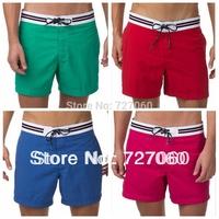 Free Shipping Hot sale new  Designer Men's Shorts Cotton Sueper Comfortable man's fashion beach shorts brand swimwear board