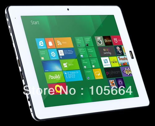 9.7inch ultra thin intel Atom N2600 dual core dual camera windows 7 tablet PC(China (Mainland))