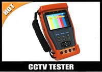 "Free shipping 3.5"" CCTV Tester Digital multimeter/Optical power meter/PTZcontrol/Video signal generator / UTP cable/Audio tester"