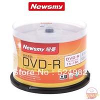 HOT- Wholesale,High quality,Newsmy Blank disc DVD-R,Dazzling ,4.7G,120MIN,1-16X ,Free shipping