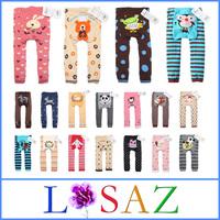 Cartoon PP Pants Baby Romper Newborns Cotton Tights Baby Clothing 6pcs/Lot