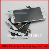 Free shipping as gift For Samsung Galaxy S4 i9500 lcd screen with White touch screen digitizer assembly,fast delivery