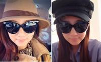 High Quality!Retro Style Sexy Cat Eye Sunglasses Outdoor Fashion Women Punk Shades Eyeglasses b14 SV005062