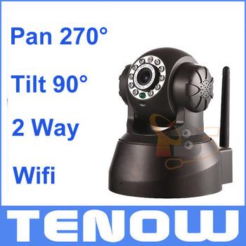 Wireless/Wired IR Wi-Fi Pan/Tilt Night Vision IP Camera Webcam CCTV Camera Indoor CMOS WifiTwo-Way Audio