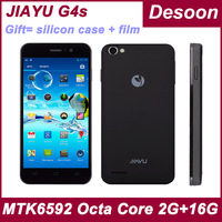 In stock Free Shipping Jiayu G4 advanced Phone Android 4.2 1GB+4GB/2GB+32GB MTK6589T QuadCore 1.5Ghz Black White JY-G4c/ Koccis