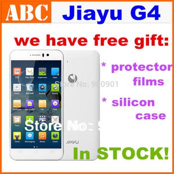 Stock Free GIFT! JIAYU G4S Advanced MTK6592 Octa core 2gb RAM 4.7' IPS MTK6589T G4T Android4.2 mobile phones 3000mAh battery
