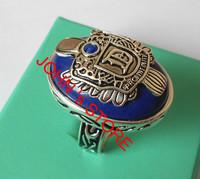 Freeshipping wholesale 20pc a lot Vampire Diary Damon Finger stone Ring letter engraved Retro Punk Ring stefan ring H043cc