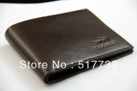 5 colors cow High Quality mens wallet brown black men Men's genuine leather lines purse wallet for men