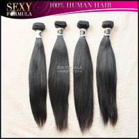 Brazilian Straight Virgin Human Hair 4pcs lot One Donor Pure Virgin Straight Hair Free Shipping  Brazilian Virgin Hair
