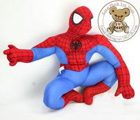 Free shipping Toys & Hobbies Movie toy doll Plush Spider Man doll plush stuffed soft doll toy 30cm festival gift children gift