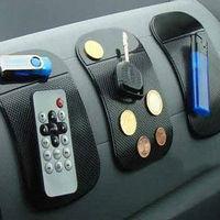 Hot sale! 5pcs/lot, Car Automobiles Interior Accessories Non Slip Car Dashboard Sticky Mat Anti-Slip Mat
