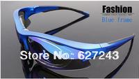 New MOON Polarized Light Cycling Riding Bicycle Bike UVA UVB Sports SunGlasses  5 Lens