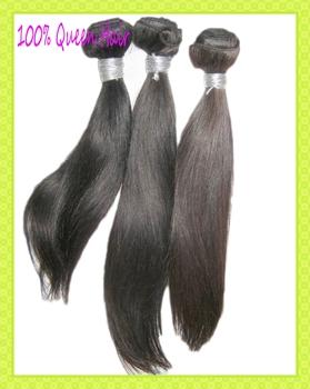 "1kg/10pcs wholesale bulk virgin Silky straight human hair extension,12""-30""inch,no tangle, free shipping"