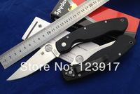 Free Shipping!!2013 Hot Sale Spyderco C36GPE Folding knife, CPM- S30V blade G10 handle Camping knife,Survival Knife