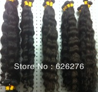 Free shipping 6A Virgin hair products Mixed length each size 1pcs 4pcs lot 2pcs 3pcs 5pcs lot Brazilian remi 1b weave loose wave