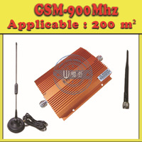 GSM Repeater/Booster/Amplifier/Receivers,900Mhz Cellular Phone Signal Repeater Booster + Antenna (Coverage: 200 Square meters)