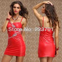 New Sexy Ladies High Street Dresses Rhinestones Club Party Mini Dress For Women