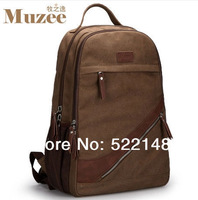 MUZEE New 2013 Canvas backpack for boys casual  fashion men travel bags ME-0211