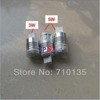 LED G9 3W or 5W 210ln 350lm 85-265V 5PCS 11PCS SMD 5050 LED Epistar chip for G9 led mini aluminum bulb and g9 led ceramic bulb