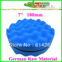 Germany raw material 7inch buffing pad car care waxing sponge Free shipping